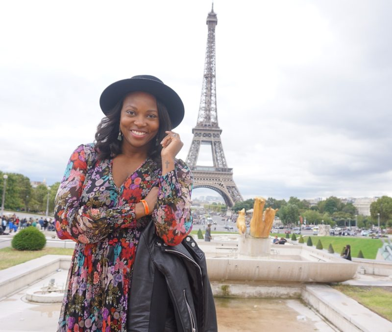 Melissa Chataigne top la personal stylist at paris fashion week