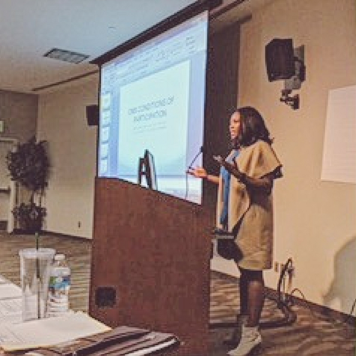 COH Speaker Melissa Chataigne