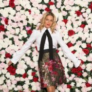 Cat Cora_flower_bed_dolce_gabbana_stylist_melissa_chataigne