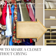 Melissa Chataigne personal stylist shares expert advice for couples combing closets on happily.com