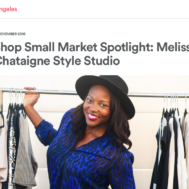 Airbnb interview with personal stylist and motivational speaker, Melissa Chataigne, November 2016