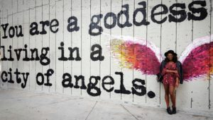 you-are-a-goddess-mural-melissa-chataigne-wrdsmth