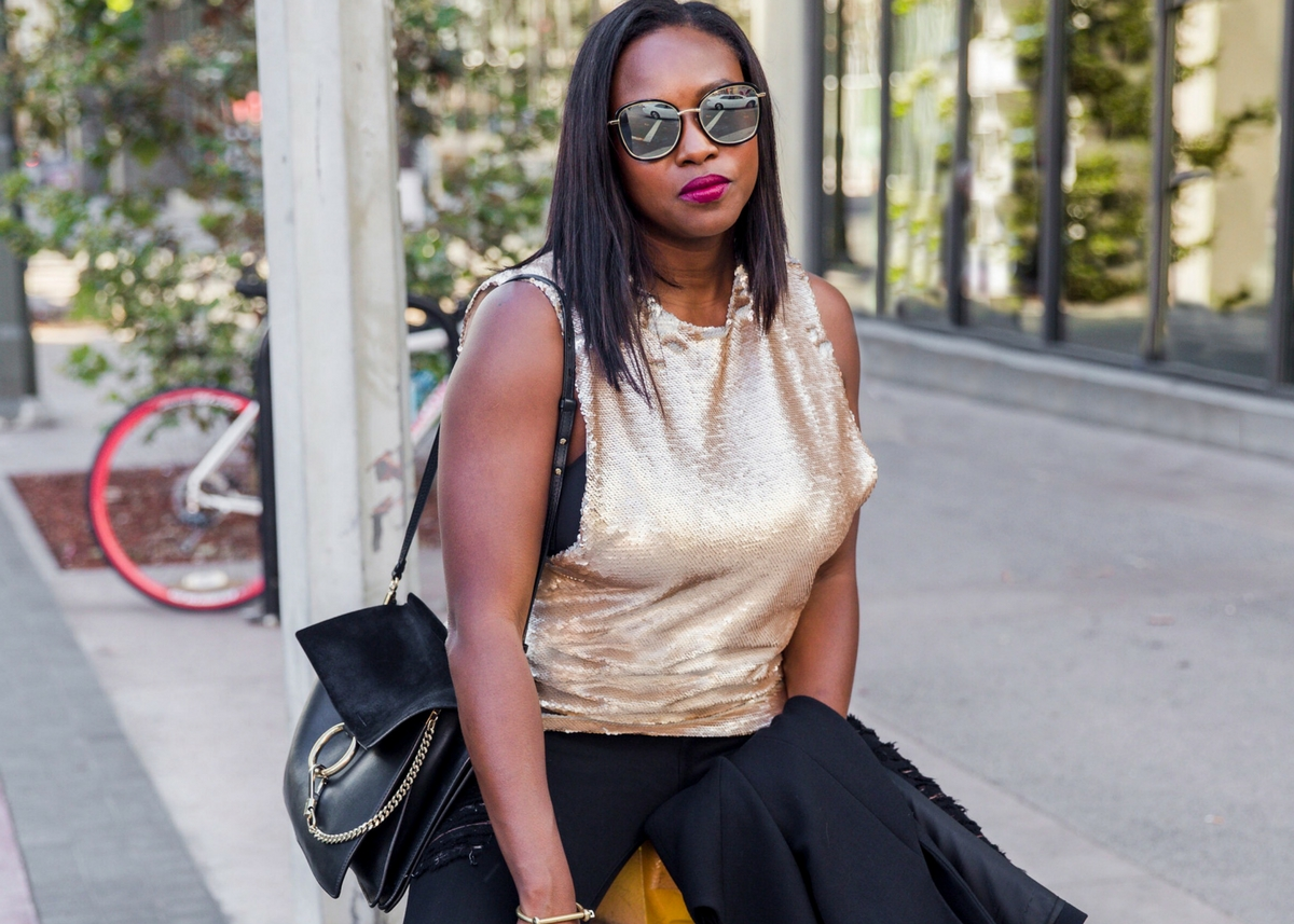 HOW TO STYLE SEQUINS ALL DAY