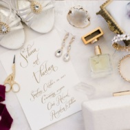 flatlay_wedding_Stylist_bridal_stylist_melissa_chataigne