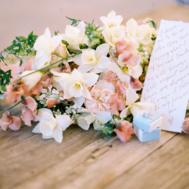 blush wedding bouquet _creative direction melissa chataigne hoste events_MichaelCostaPhotography