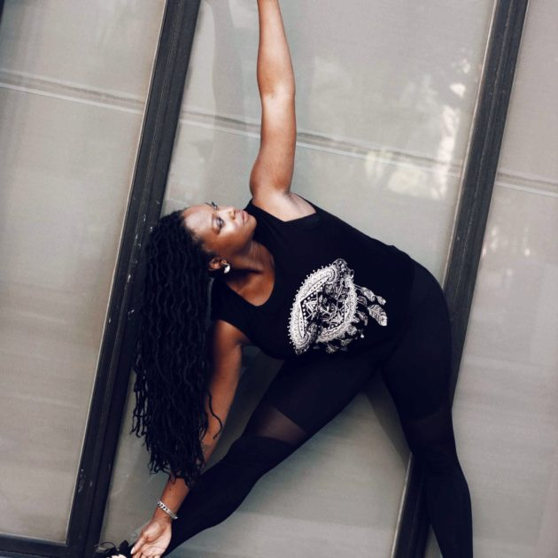 Melissa Chatiagne yoga teacher