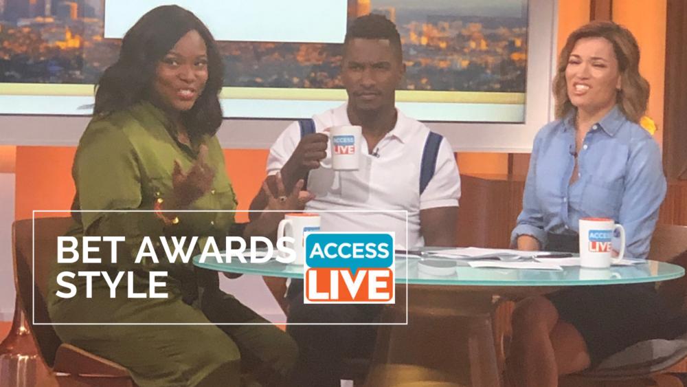 bet awards recap access live