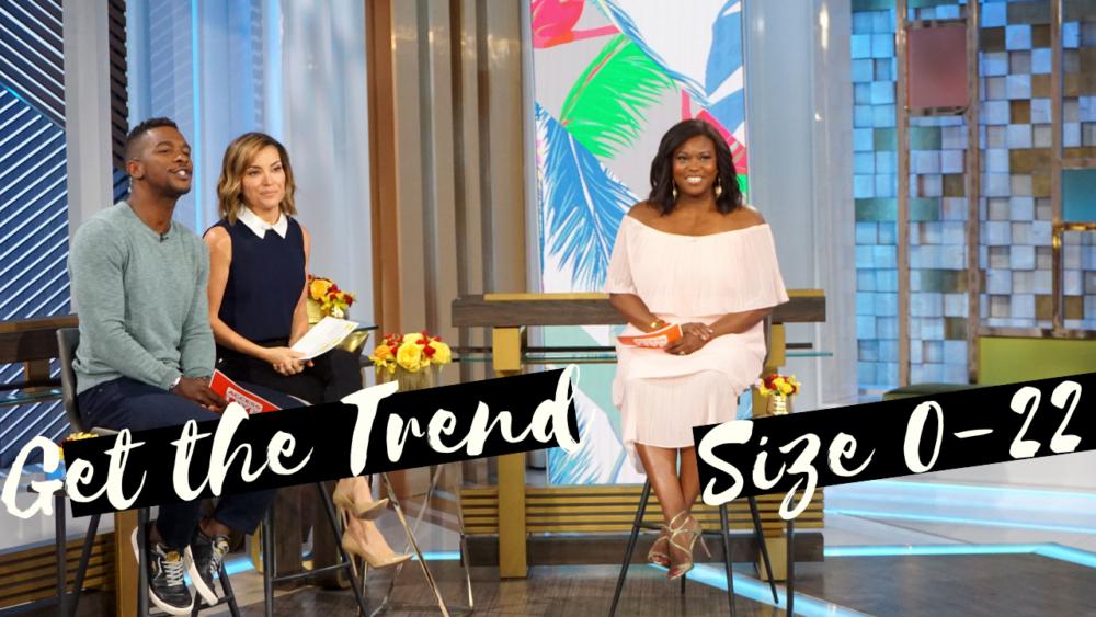 get the trend inclusive fashion segment access live