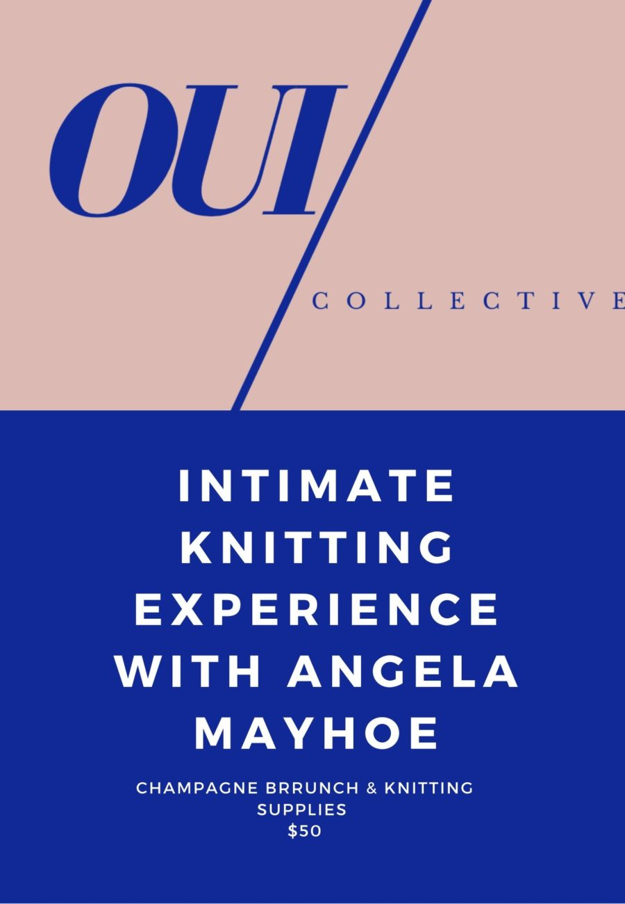 oui knitting by melissa chataigne