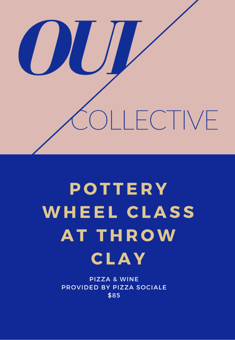 pottery at throw clay
